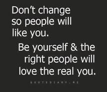Dont change